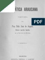 Gramática araucana compuesta por Fray Feliz José de Augusta