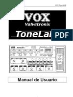 TonelabLE Manual