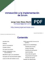 Introducción a La Implementación de Scrum