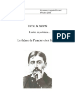 Theme de Lamour Chez Proust