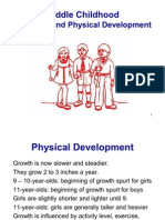 Middle Childhood, Cognitive and Physical Development 112
