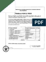 Convocatorias Contraloria General Cpm 002 2011 Cgr