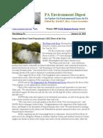 Pa Environment Digest Jan. 16, 2012