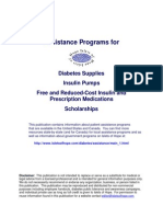 Diabetes Assistance Programs
