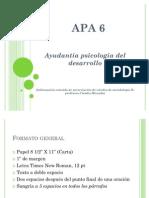 ayudantia APA 6