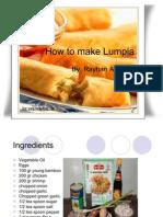 How to Make Lumpia Tayhan