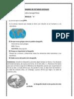 Cuestionario de Estudios Sociales