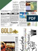 WHM Weekly Newsletter - 11 December 2011