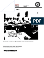 US Navy Course NAVEDTRA 134 - Navy Instructor Manual