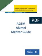 AGSM Alumni Mentor Guide