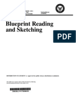 US Navy Course NAVEDTRA 12014 - Blueprint Reading and Sketching