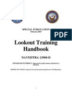 US Navy Course NAVEDTRA 12968D - Lookout Training Handbook