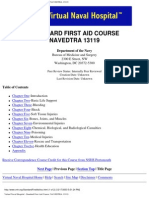 US Navy Course NAVEDTRA 13119 - Standard First Aid Course