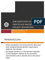 [Presentasi]Line Detection Using Hough Transform