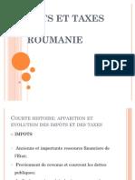 Impots Et Taxes Locaux en Roumanie