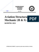 US Navy Course NAVEDTRA 14018 - Aviation Structural Mechanic (H & S) 3 & 2