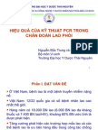 Hieu Qua Cua Ki Thuat PCR Trong Chuan Doan Lao Phoi