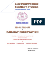 Project Report RAILWAY C
