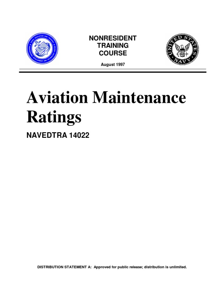 us navy course navedtra aviation maintenance ratings