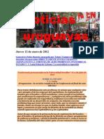 Noticias Uruguayas Jueves 12 de Enero de 2012