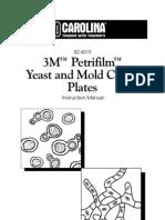 3M Petrifilm Yeast Molds