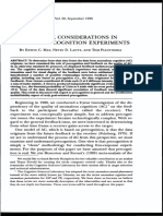 Edwin C. May et al- Feedback Considerations in Anomalous Cognition Experiments