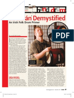 Bodhran Article DRUM!