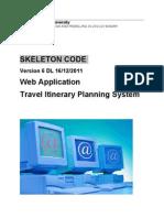 Skeleton code