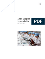 Apple Suppliers Responsibility 2012 Progress Report