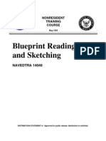 US Navy Course NAVEDTRA 14040 - Blueprint Reading and Sketching