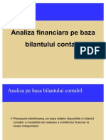 Analiza Financiara Pe Baza Bilantului2