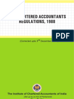 The Chartered Accountants Regulations, 1988
