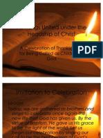 PPT - Para-liturgy