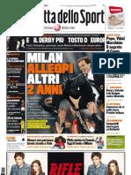 Gazzetta dello Sport - 14/01/2012