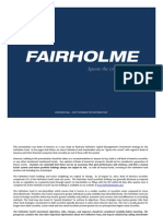 Fairholme Stays the Course[1]