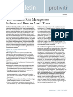 The Bulletin - Ten Common Risk Management Failures and How to Avoid Them V3I6