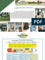 50ft Floating Homes cruiser stern narrowboat for sale