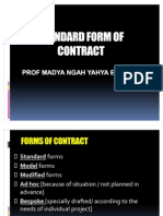 Standard Form of Contract 1