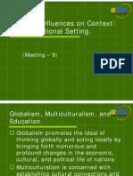 PB9MAT_9. Cultural Influences on Educational Context