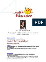 Health Education and TP Porjected Plan for Jordan Rural Schools - Rania Ismail Medics Index Member Join Us Free to Help Combat TP