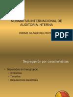 03 Normativa Internacional Auditoria Interna
