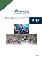 Business Plan - Steven Frost Aviation
