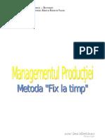 Metoda Fix La Timp