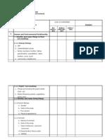 Science Checklist