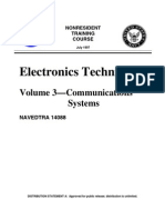 US Navy Course NAVEDTRA 14088 Vol 03 - Electronics Technician—Communications Systems