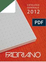 Italian Papers 2012 Catalog