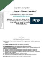 GMAT Quant Concepts