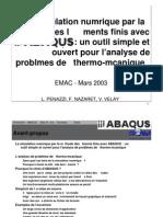 Present Abaqus Lp 030307
