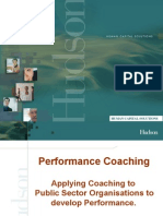 Hudson Public Sector Coaching Talk