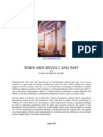 Why Men Revolt When They Do